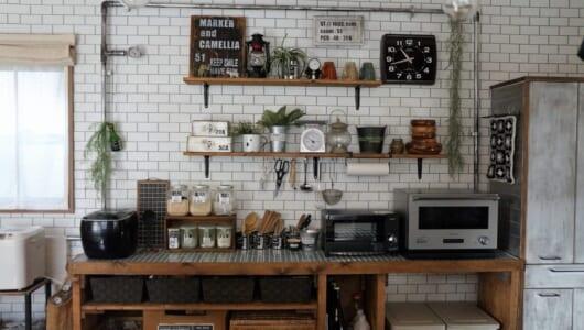 DIYクリエイターに教わる、100均やホムセンをフル活用したキッチン収納