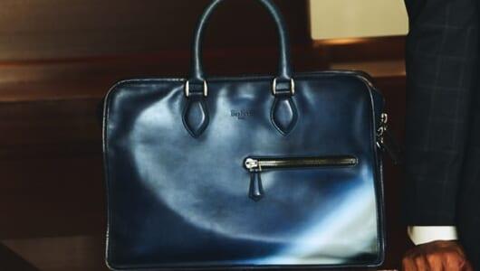 【男の格上げ逸品バッグ】ベルルッティ「アン ジュール」に入れるビジネス必勝の8アイテム