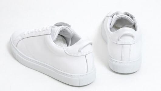 綺麗めスタイルに好相性。プロ推薦の「ミニマルデザインの白スニーカー」4足