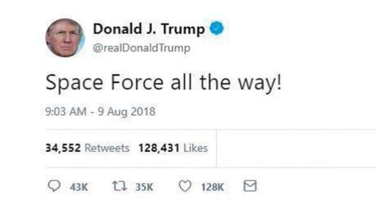 【ムー宇宙戦争】トランプ大統領の「宇宙軍創設」の真意とは? アメリカUFO戦争の知られざる真実