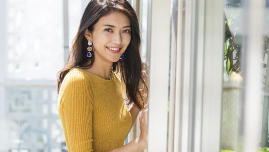 2018年大躍進の女優・田中道子が考える,リノベで「心を豊かにする」暮らし方