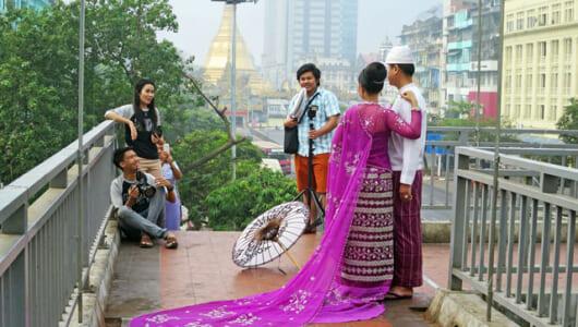 「サービス業」の目覚しい発展! 2018年ミャンマーで流行ったモノ3選