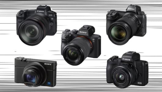 プロが驚いたカメラはどれ? 2018年登場の注目機ベスト5でカメラトレンドをサク読み!
