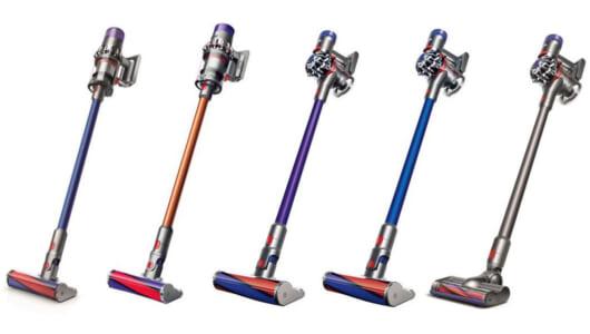 【2019年版】ダイソンのコードレス掃除機、主要5モデルを徹底比較!おすすめはこれだ!
