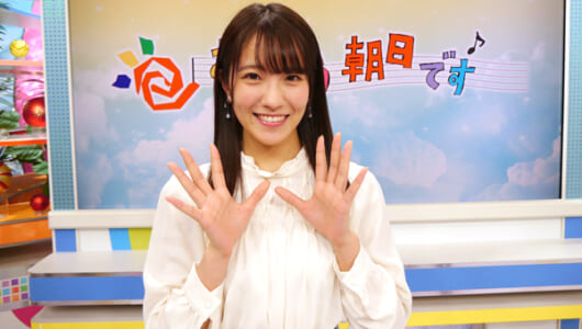 NMB48の新キャプテン・小嶋花梨が『おは朝』リポーターに就任