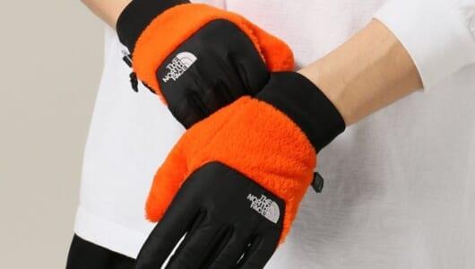 プレゼントにもオススメ!『THE NORTH FACE』のスマホ対応手袋が良い感じです