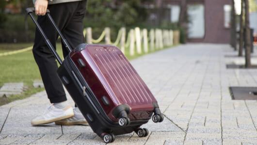 旅行も出張も1個でOK!荷物の量に合わせて拡張できるスーツケース