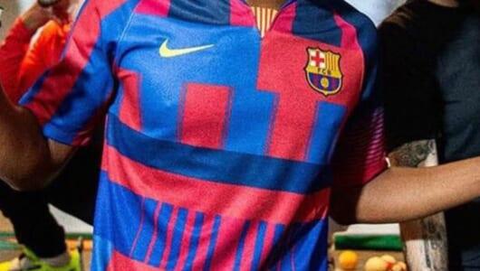 FCバルセロナとNIKEがパートナーシップ20周年! 記念ユニフォームがなかなかスゴイ