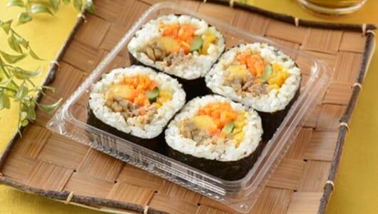 ローソンの新作は、韓国料理・プルコギキンパを再現した「具だくさん韓国風海苔巻」!