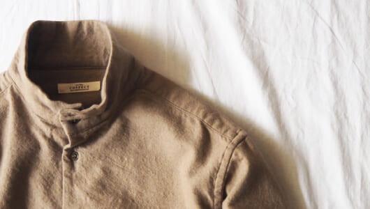 シャツを増やして着回し力アップ。季節感のある「ベージュシャツ」4枚