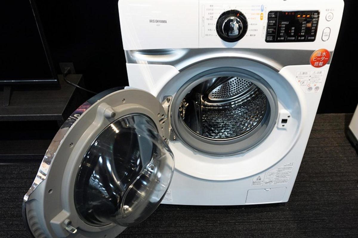 機 洗濯 アイリス オーヤマ ドラム 式
