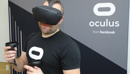 快適な追従性に驚き! VR酔いが心配なプレイヤーが最新一体型ヘッドセット「Oculus Quest」を体験したら…