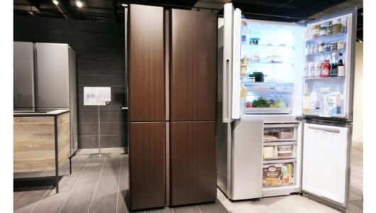 超オシャレ、ただ横幅が…世界的デザイナー「冷蔵庫のトレンド」に逆らう理由