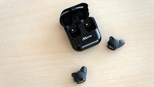 【レビュー】ワイヤレス市場に新風を巻き起こすか? 新進気鋭の完全ワイヤレスイヤホン Mavin「Air-X」