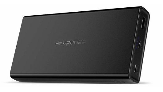 高出力45WでMacBookも充電OK! 充電速度にもこだわった2万mAh超のモバイルバッテリー