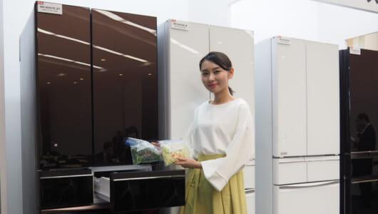 「本末転倒」を克服! 新たな「瞬冷凍」で時短効果を高めた三菱電機のAI冷蔵庫
