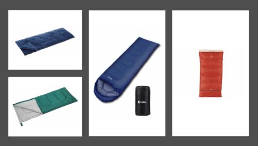 「封筒型寝袋」でキャンプ泊を快適にーーネットで高評価の5つを紹介