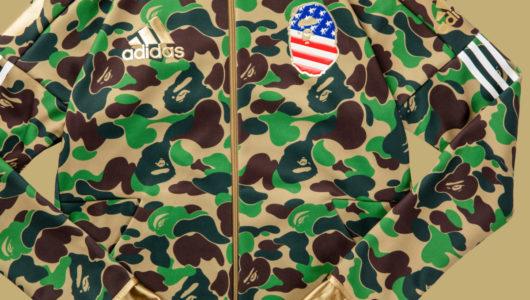 「adidas & BAPE®カプセルコレクション」――アメフト&ストリートカルチャーを融合した先駆的コラボが実現!