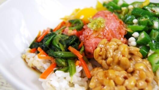 体にうれしい食材がたっぷり☆ローソンのあっさりメニュー「まぐろたたきとオクラのネバネバご飯」