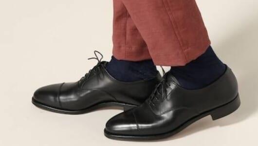 合わせやすいデザインは中毒性あり。様々なシーンで役に立つ革靴3足