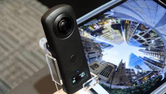 360°カメラの雄が次に求めたのは「静止画の画質」だった! 1.0型センサー搭載「RICOH THETA Z1」登場