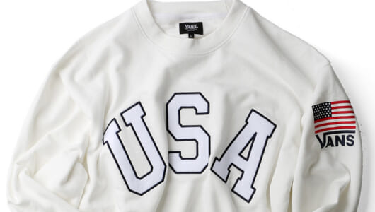 ついつい踊りだしたくなる「U.S.A.」なスウェットシャツ。