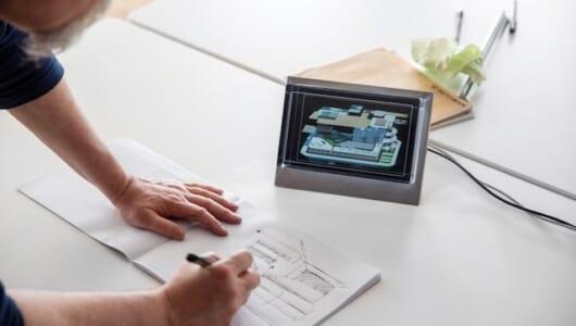 ヘッドセットは不要! クリエイター必見の新開発「3D映像」ディスプレイ
