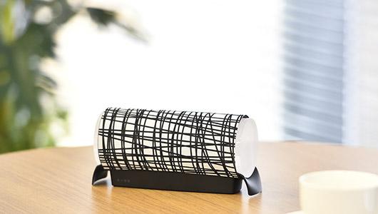 着せ替えできるスピーカー「KOTORI 501」に柄デザインのグリルカバー全12種がラインナップ