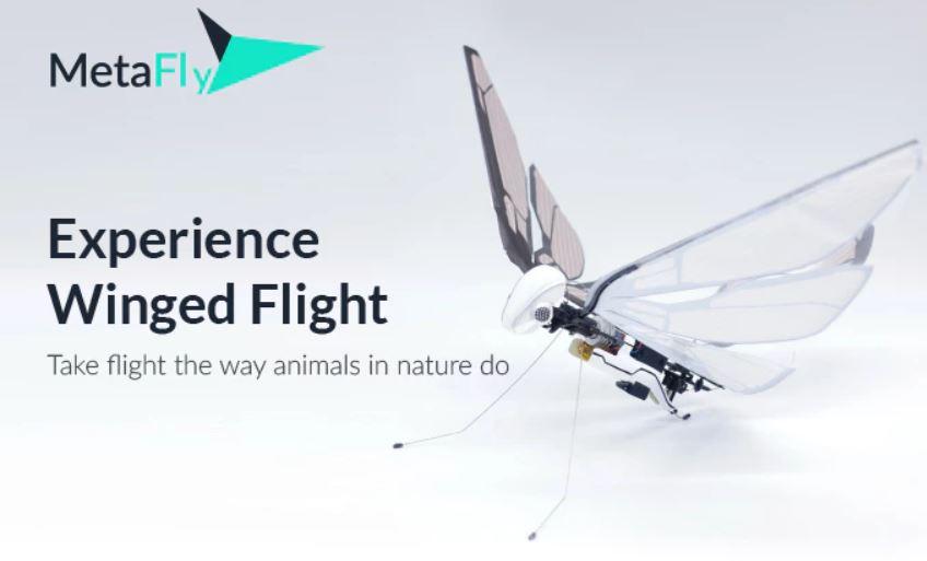 自然の美と科学を融合! クラウドで達成率1100%超えの「空飛ぶおもちゃ」