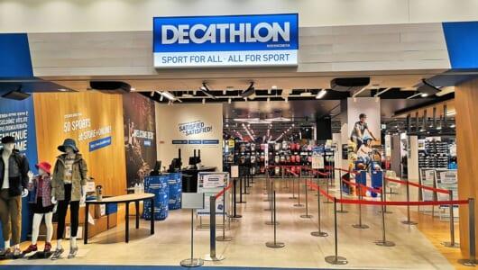遂に日本初出店の「デカトロンストア」、30カテゴリ以上のプロダクツから主要コーナーを徹底解説!