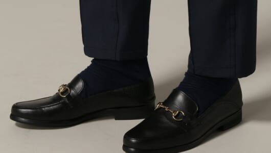 ちょっとだけ捻る感じで。周りと差をつける革靴3選