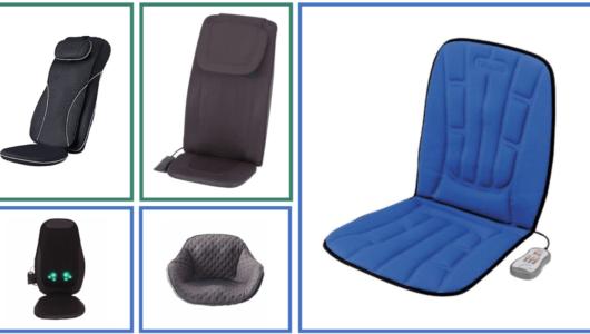 自宅の椅子を「マッサージチェア化」。置くだけで使える極楽な5製品