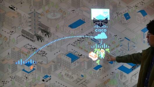 シスコがネットワークを使って提案する「未来の街」が想像以上に具体的だった。