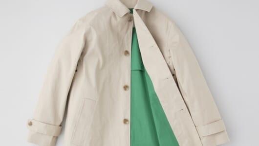 春のファッションが楽しくなるスプリングコート4選