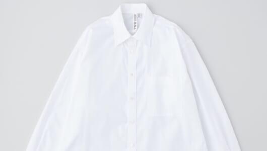 春アイテムの大本命、爽やかな白シャツが集まりました!