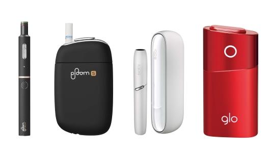 3大加熱式たばこメーカーの最新デバイス徹底比較! 「スペック」「機能」「個性」で見える特色