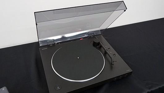 ワイヤレスで手軽にレコードが聴けちゃう! ソニーのBluetooth対応ターンテーブル「PS-LX310BT」