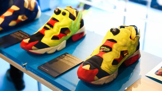 【今日から】90年代スニーカーブームの興奮が蘇る! リーボックのスペシャルミュージアム期間限定オープン