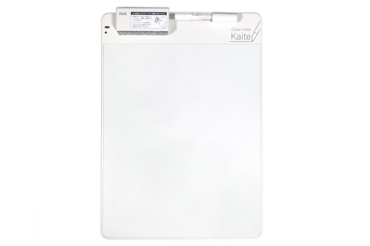 ↑プラス「クリーンノート Kaite」A4サイズ 4536円・B5サイズ 3888円(写真はA4)