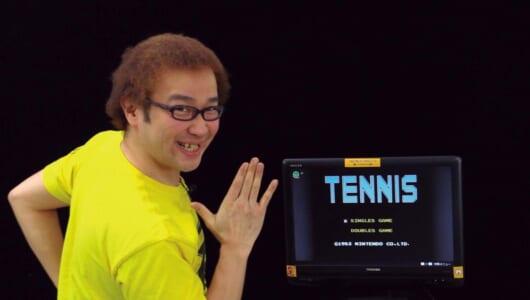 「テニス」の最高難易度ストレート勝ちに挑戦!【ゲーム芸人フジタの挑戦】