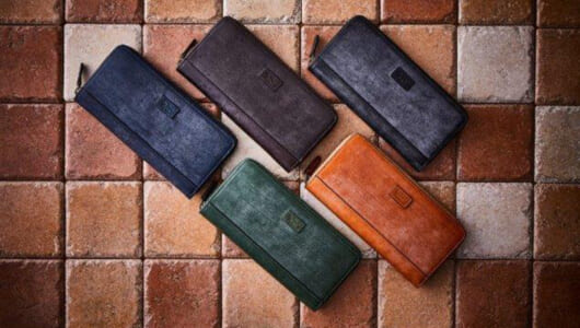 時間を惜しまず手間を惜しまず辿り着いた、美しい財布「ブライドルレザーウォレット」