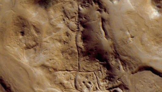 【ムー火星古代文明】古代シュメール人か? 火星の巨大地上絵の謎