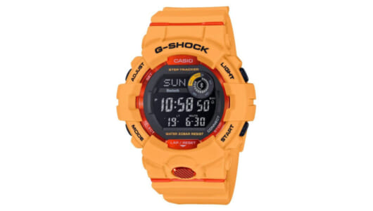 【G-SHOCKバイブル】GBD-800は日々の生活習慣が変わるスポーツウオッチ! 機械音痴でも使えます