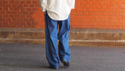 夏に穿ける品のあるデニム。薄手&快適な大人仕様をピックアップ