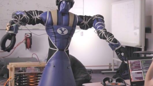 やっぱりフワフワ? ベイマックスのリアル版「ロボット」をNASAが開発中