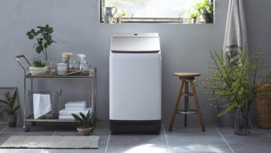 見た目の洗浄力からして違う! パナ「液体洗剤・柔軟剤 自動投入」機能を搭載したタテ型洗濯機