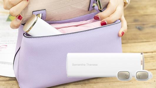 """""""サマンサ女子""""が完全プロデュース!女性のための完全ワイヤレスイヤホン「Samantha Wireless Earphones」"""