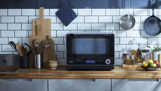 「殿堂入りレシピ」もおまかせで完成! 過熱水蒸気オーブンレンジ「ヘルシーシェフ」新モデル