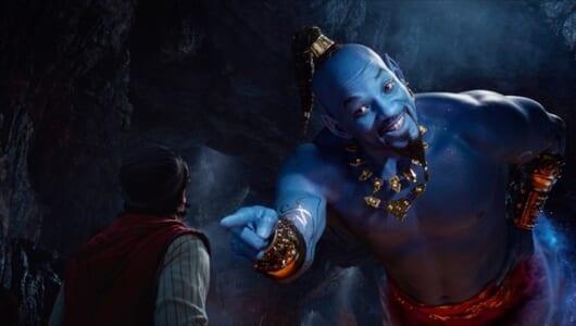 映画「アラジン」W・スミス演じるジーニーがランプの使い方をノリノリで解説!