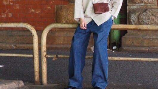 ストレートデニムに飽きた方に朗報!今夏穿きたいトレンド感のあるデニム5選